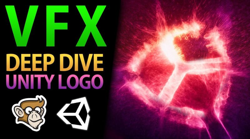 Unity Logo Million Particles! (VFX Graph Deep Dive)
