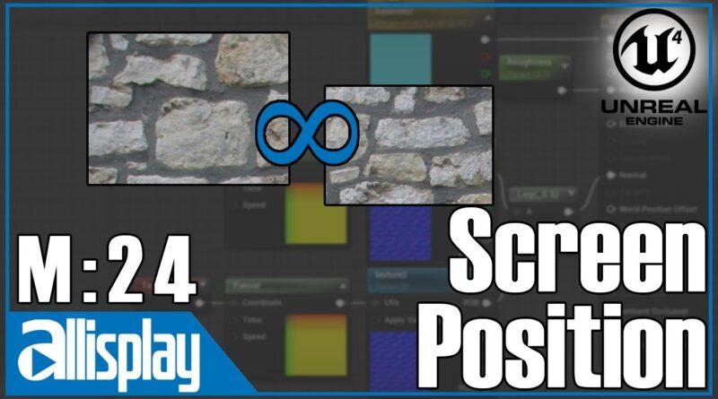M24: Screen Position Node | UE4 Beginner's Material Tutorial Series