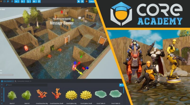 Create a custom multiplayer game with Core in under 10 Minutes