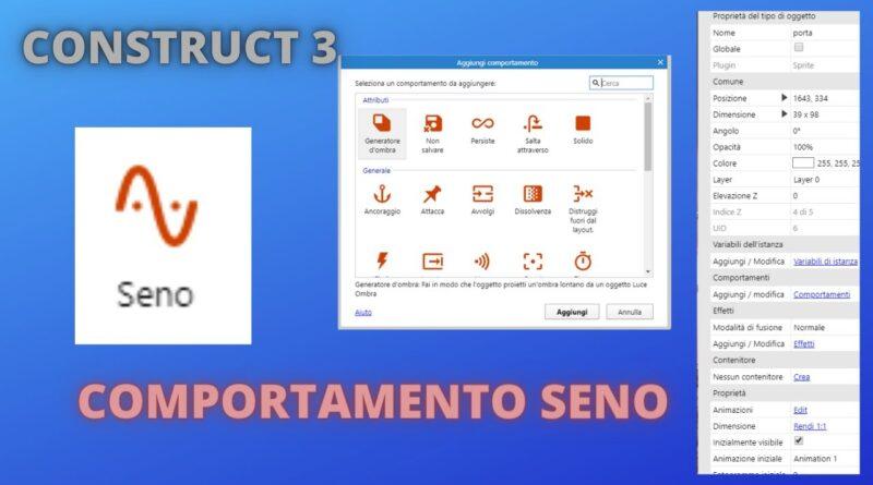 Construct 3 - Comportamento Seno