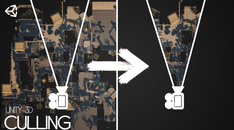 Unity 3d FPS Game Tutorial - OCCLUSION CULLING (01)(Download free)