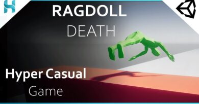RAGDOLL DEATH - Hyper-casual Game in Unity - Tutorial - Subway Surfers - Part_3