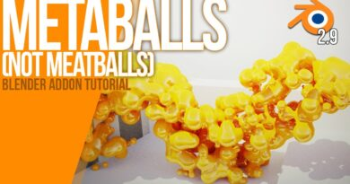 How to work with METABALLS   Blender 2.90   Tutorial