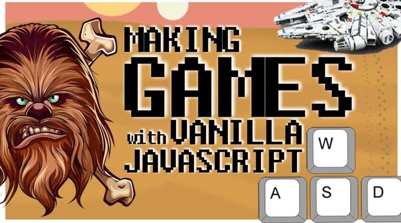 How to Make a Game with JavaScript and HTML Canvas | Keyboard Input & Sprite Animation [Vanilla JS]