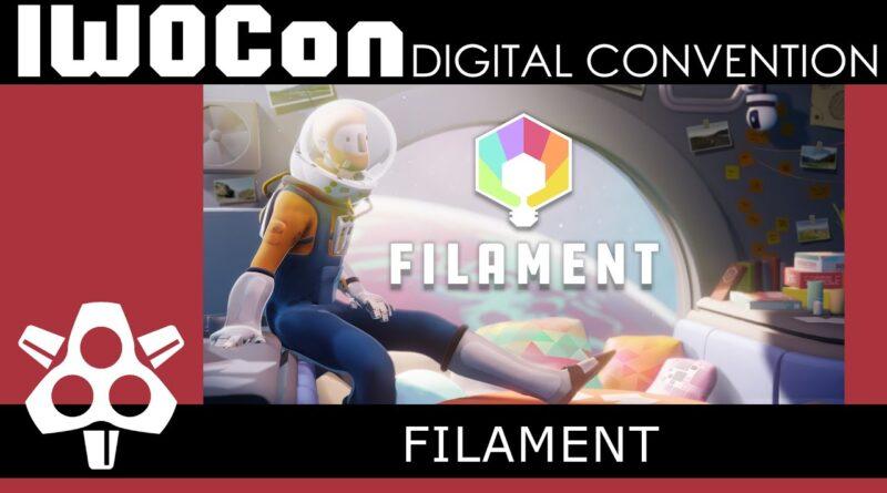 IWOCon 2020 - Filament Game Trailer | Digital Convention