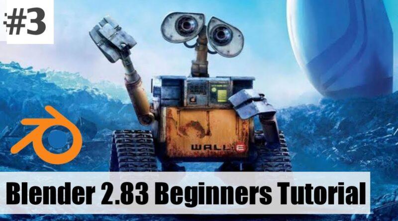 [Hindi] Blender 2.83 Beginners Tutorial : Blender 2.8 in Hindi #3
