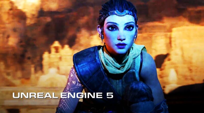 Unreal Engine 5 Official PS5 Real-Time Tech Demo