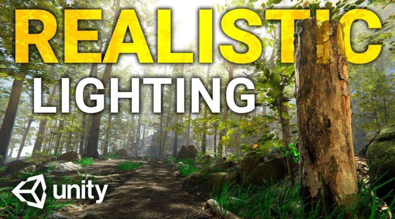 REALISTIC LIGHTING in Unity! (Tutorial)