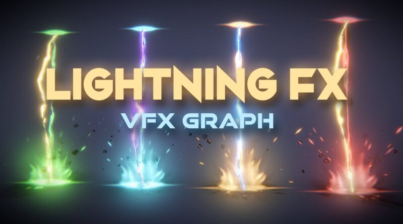Unity VFX Graph - Lightning Shader Effect Tutorial