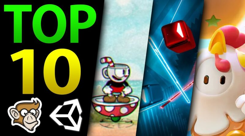 10 Awesome Games made in Unity!