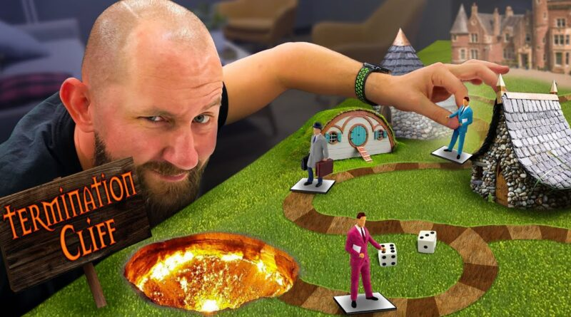 Turning My Business Into A Board Game: You Lose The Game You Lose Your Job!