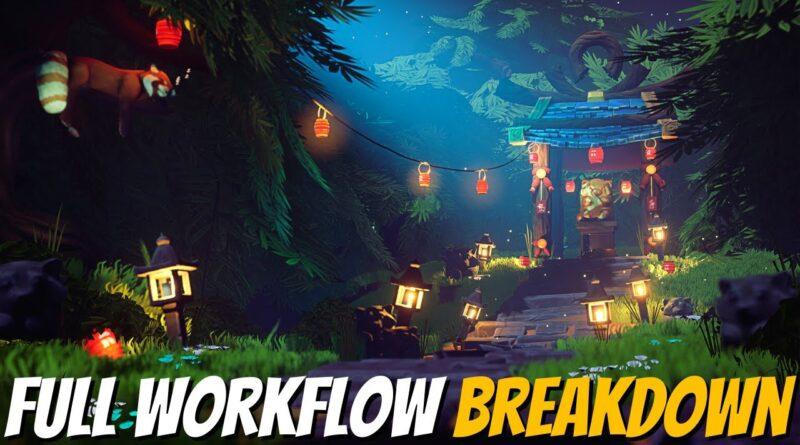 Creating Beautiful Fantasy Worlds in Unreal Engine 4 - FULL BREAKDOWN