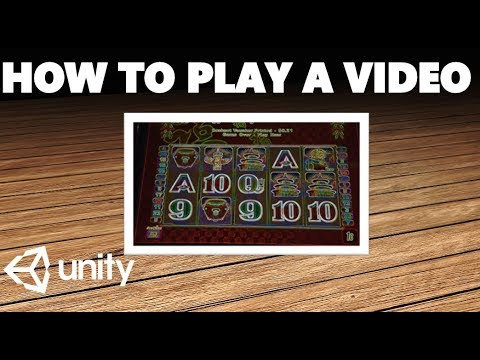 HOW TO EASILY PLAY A VIDEO IN UNITY TUTORIAL