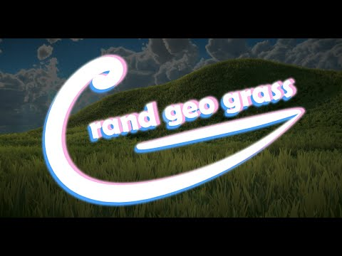Grand Geo Grass - Geometry Grass shader for Unity - Update v0.20