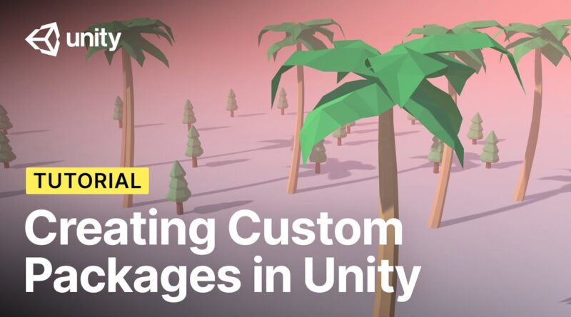 Creating Custom Packages in Unity! (Tutorial)