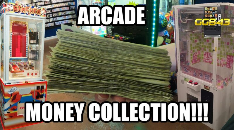 BIG VENDING and AMUSEMENT / ARCADE GAME Business Money Collection!