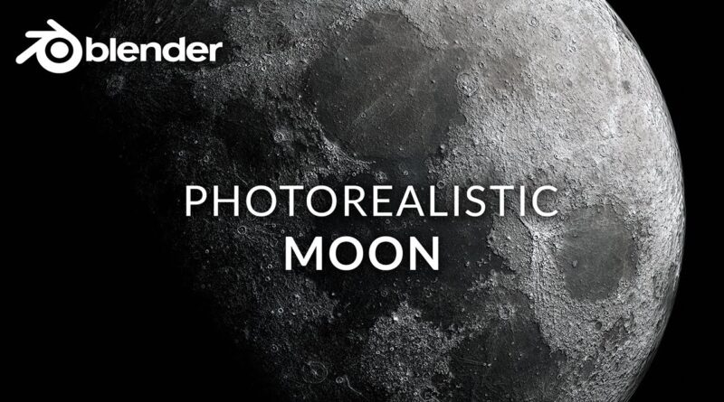 How to Make a Realistic Moon in Blender 2.83 (Beginner Tutorial)