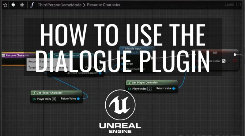 How to create a game with dialogue in Unreal Engine Tutorial Part 5