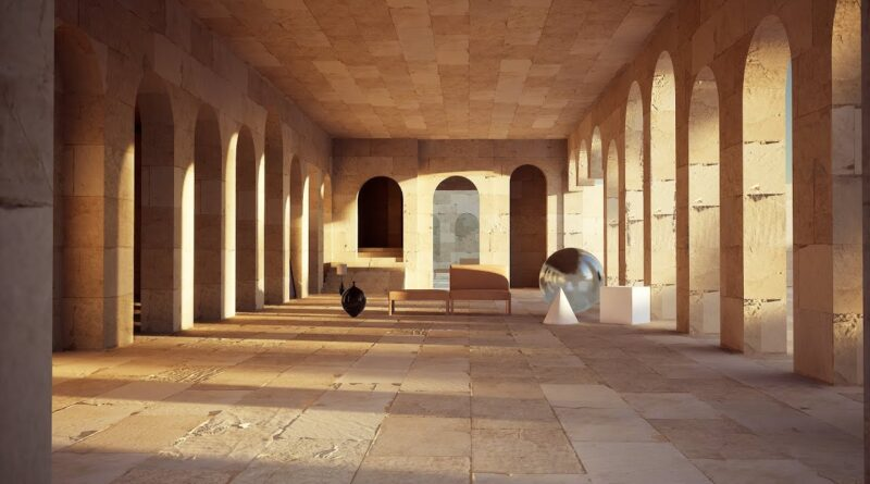 How I work with Raytracing noise in Unreal Engine for Architecture