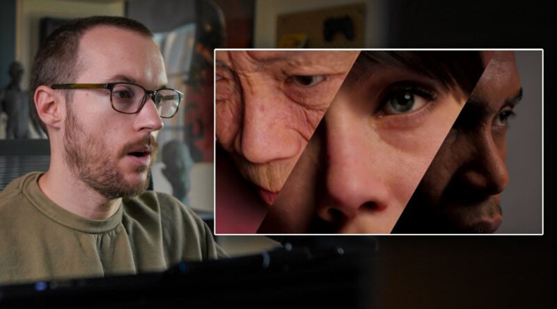 Game Artist Reacts to Unreal Engine's MetaHuman Character Creator
