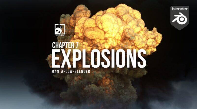 Blender Tutorial - Explosions in Mantaflow