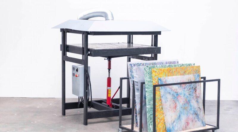 Precious Plastic - Build a PRO sheetpress machine and make sheets (part 3.7)