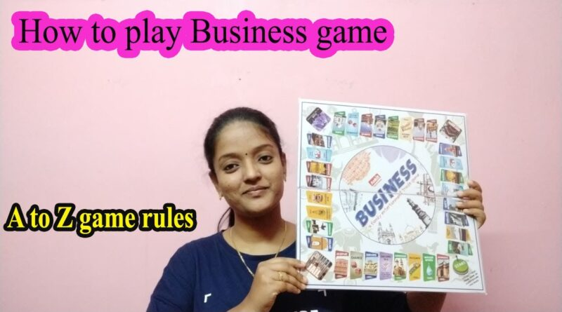 How to play Business game in Tamil | 90 kids Game | Business Game rules | 7 Players game | KKV