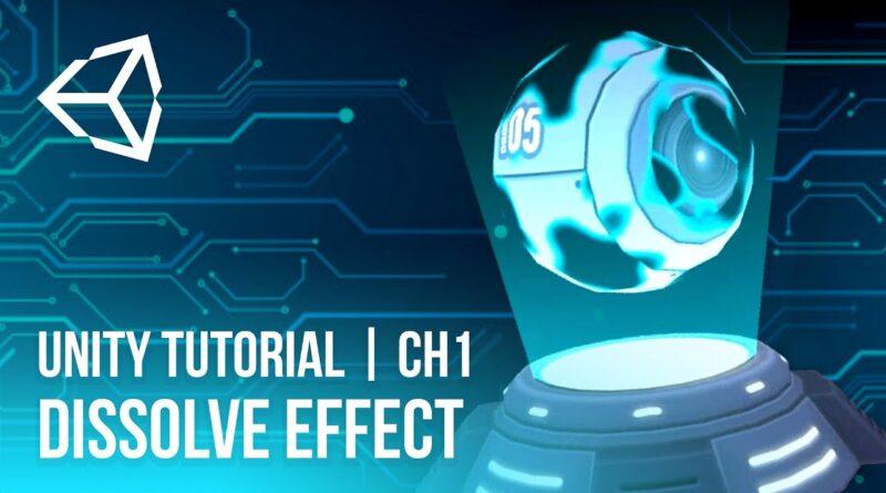Dissolve Effect | Unity Tutorial | CH1 (Optimized) [2021]