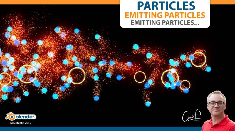 Particles Emitting Particles and so on... Blender Tutorial