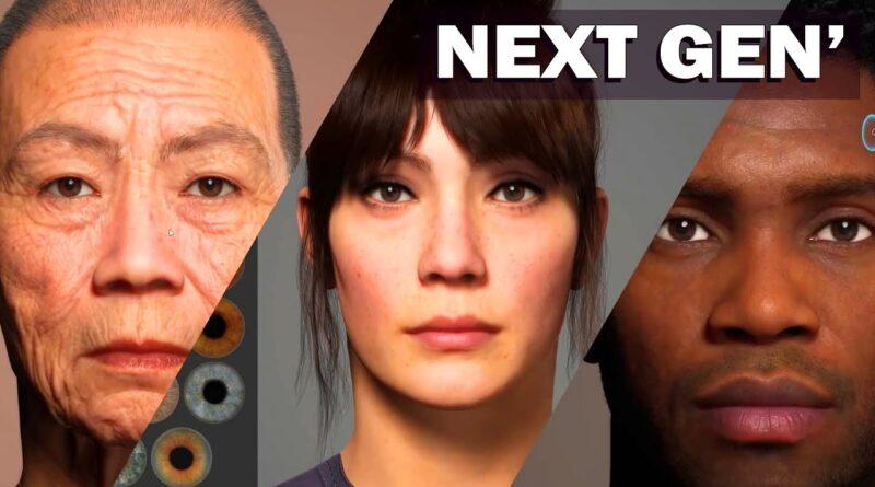 METAHUMANS : LES GRAPHISMES NEXT GEN DE L'UNREAL ENGINE 5 (PS5, XBOX SERIES, PC)