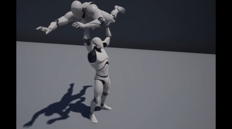 Unreal Engine Syncing animation between multiple characters [DEMO]