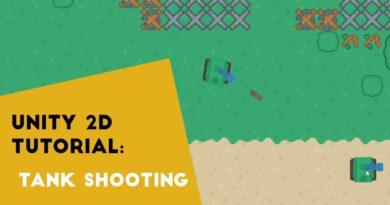 Unity 2020 - Tank Shooting Mechanic - 2D Top Down Tank Game Tutorial P4