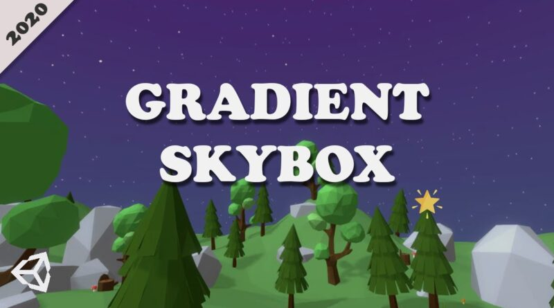 How to make a Gradient Skybox with Stars in Unity   Shader Graph Unity