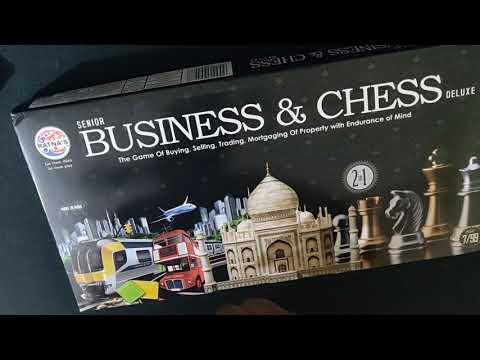 Chess and Business Board Game with Best Quality Biscuit Coins Inside only 370 RS