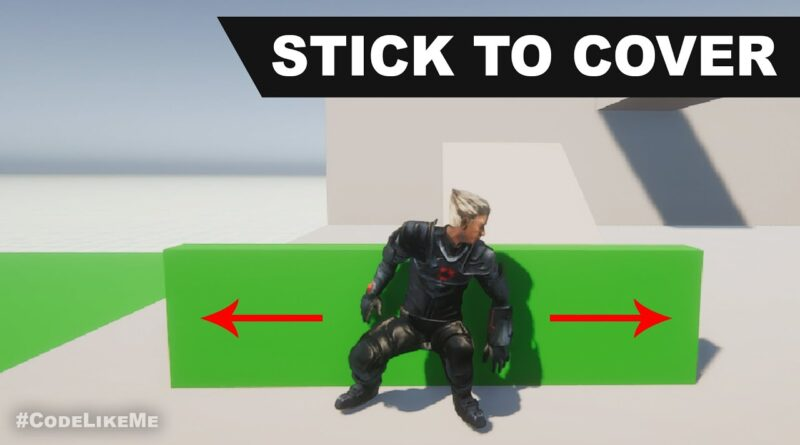 Unity Cover System - Stick to cover - Unity Tutorials #51