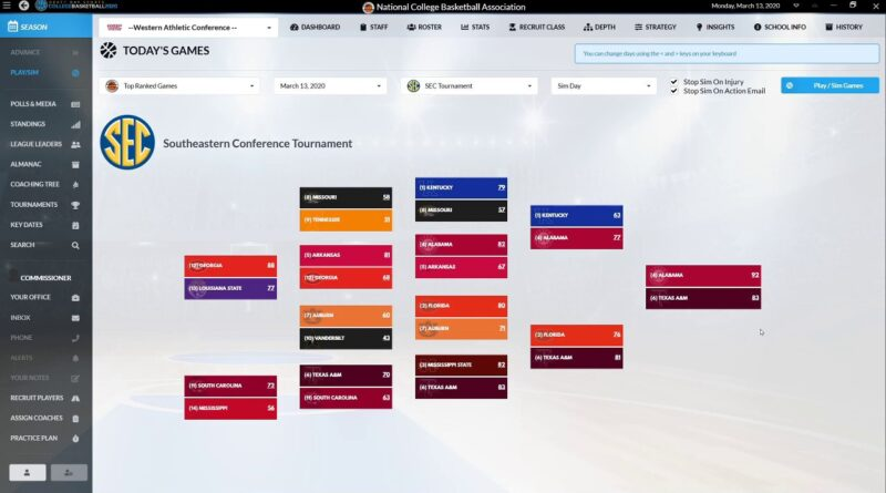 NCBA | Season 1 | Run Down of the Match-ups and Conference Tourney Results | Year 2019 | IamJustin