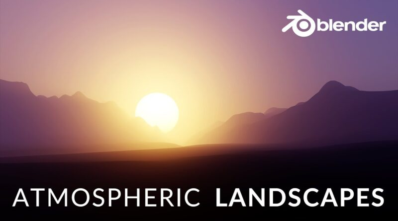 Create an Atmospheric Scene in 8 Minutes (Blender 2.9 Tutorial)