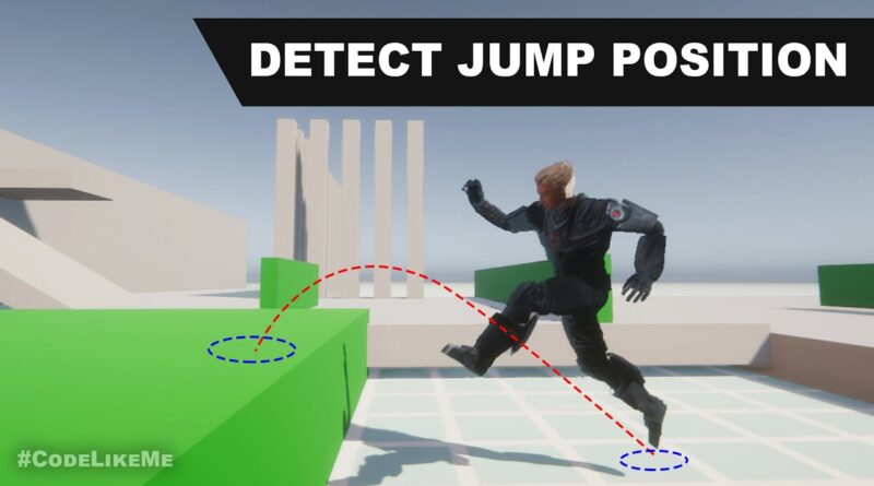 Detect Jump to position - Unity Tutorials #45