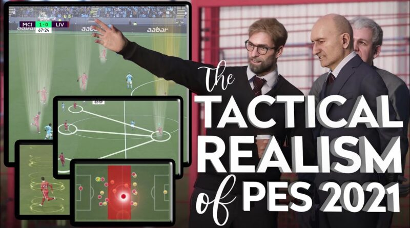 This is why I play PES not FIFA: Real-life Tactics and Off-Ball Player Movement
