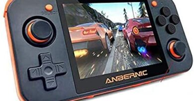 DigitCont Handheld Retro Game Console, RG350 Retro Mini Game Player with 2500 Classic Game 2500mAh Rechargeable Battery 3.5 Inch IPS Screen Portable Video Game Console, Handheld Game Console