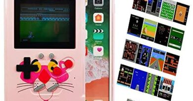 Gameboy Case for iPhone 11 Pro, Handheld Retro Game Case with 36 Small Games, Gaming Case for iPhone