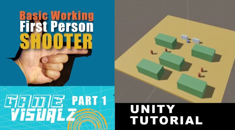 Part One How To Make A Basic Working FPS in Unity Tutorial