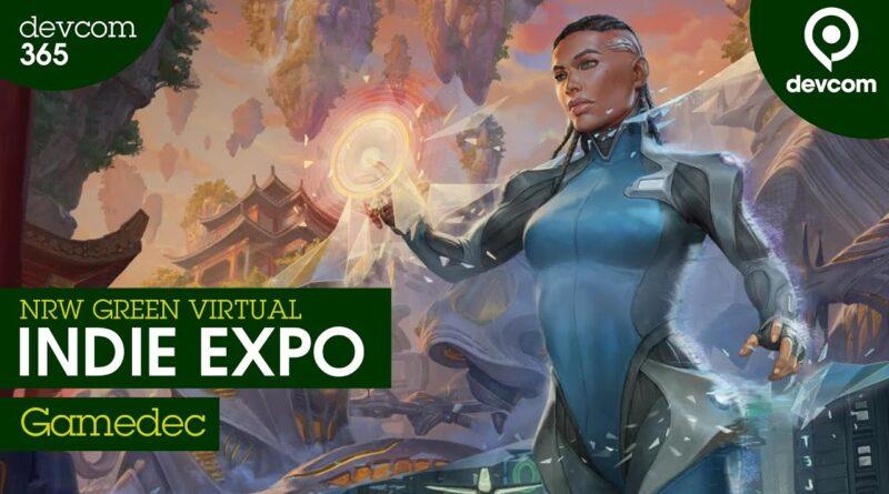 """Gamedec"" - Anshar Studios   NRW Green Virtual Indie Expo"
