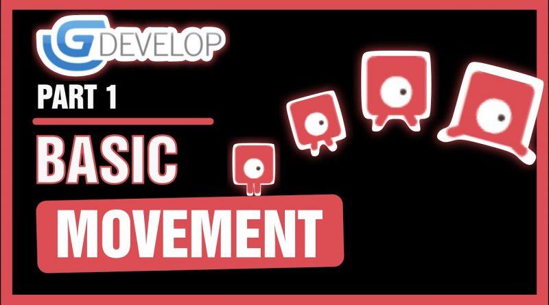#1 Platformer Game - Basic Movement | GDevelop 5