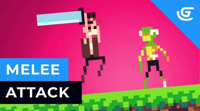 How to Create an Advanced Melee / Sword Attack in GDevelop ( Free 2D Game Engine ) - Tutorial