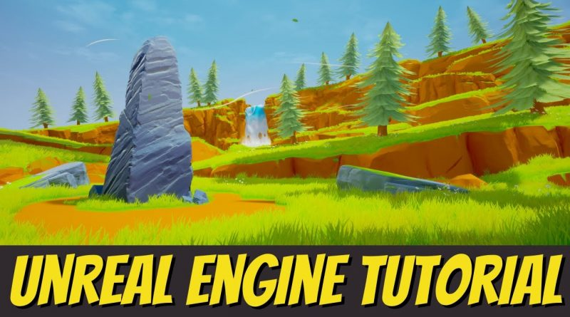 Unreal Engine 4 Tutorial - Creating A Grassy Field 3D Environment