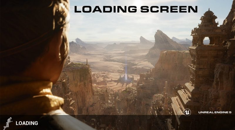 How To Make A Loading Screen In 5 Minutes Unreal Engine 4 Tutorial