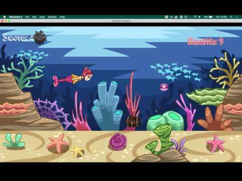 Mermaid Symphony Game Walkthrough | GDevelop 5 tutorial