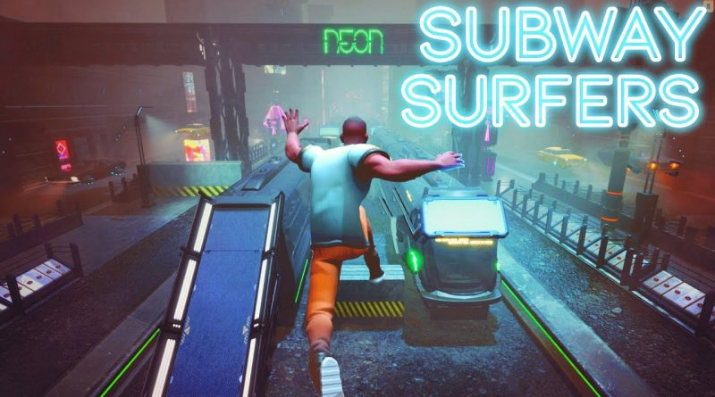Subway Surfers but RTX is ON