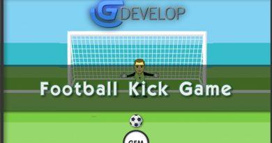 Football Kick Game | GDevelop 5
